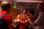 Networking at the 34th Mobile Dating Business Conference in Beverly Hills