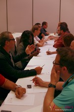 Speed Networking at the 2013 互联网 and Mobile Dating Business Conference in L.A.