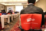 Wooyah (Chair Cover Sponsor) at the January 16-19, 2013 Internet Dating Super Conference in Las Vegas