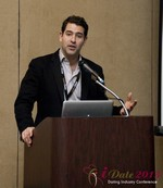 David Benoliel (VP of Avid Life Media) at the January 16-19, 2013 Las Vegas Internet Dating Super Conference