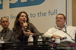 Tanya Fathers (CEO of DatingFactory) at the 2013 Internet Dating Super Conference in Las Vegas