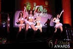 Las Vegas showgirls begin the festivities at the 2013 iDate Awards