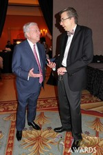Meeting with Dr Warren at the 2013 iDate Awards Ceremony