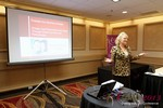 Julie Ferman (eLove / Cupids Coach) at iDate2013 Las Vegas