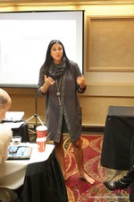 Marni Battista (CEO of Dating with Dignity) at iDate2013 Las Vegas
