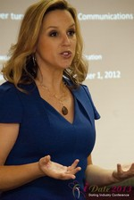 Rachel DeAlto (The Flirt Expert) at the 2013 Las Vegas Digital Dating Conference and Internet Dating Industry Event