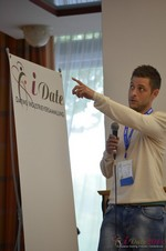 Ashley Christie, CEO of theMobileHub  at the September 7-9, 2014 Mobile and Online Dating Industry Conference in Köln