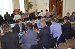 Speed Networking among Dating Industry Executives  at the 2014 Koln E.U. Mobile and Internet Dating Expo and Convention
