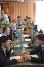 Speed Networking Among Dating Industry Executives  at the 2014 European Online Dating Industry Conference in Koln