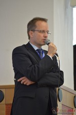 Dieter Plassman, CTO at Net-M  at the 39th iDate2014 Koln convention