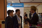 Exhibit Hall, Neteller Sponsor  at iDate2014 Germany