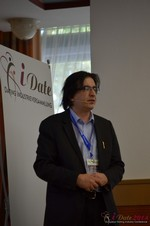 Francesco Nuzzolo, France Manager for Dating Factory  at the 2014 E.U. Online Dating Industry Conference in Koln