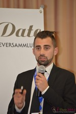Matthew Banas, CEO of NetDatingAssistant  at the September 7-9, 2014 Mobile and Онлайн Dating Industry Conference in Germany