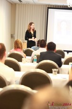 Jill James, COO of Three Day Rule Seminar On Partnership Models For Dating Leads To Online Dating at the 38th Mobile Dating Industry Conference in Beverly Hills
