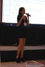 Rosalie Sutherland Of AnastasiaDate Speaking On Mobile Dating Conversions  at the 2014 在線 and Mobile Dating Industry Conference in Beverly Hills