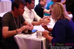 Speed Networking Among Mobile Dating Industry Executives at the 2014 在線 and Mobile Dating Industry Conference in Beverly Hills