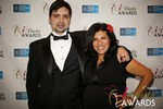 Arthur Malov & Damona Hoffman  at the 2014 iDateAwards Ceremony in Las Vegas