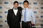 Arthur Malov & Kevin Feng  at the 2014 Internet Dating Industry Awards Ceremony in Las Vegas
