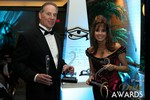 Ken Agee & Renee Piane (Multiple iDateAward Winners) at the 2014 Internet Dating Industry Awards Ceremony in Las Vegas