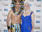Mary Haskett of beehiveID  in Las Vegas at the 2014 Online Dating Industry Awards