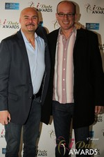 Sean Kelley & Benoit Le Chevallier  in Las Vegas at the January 15, 2014 Internet Dating Industry Awards