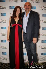Tatyana Seredyuk & Sean Kelley  at the 2014 iDateAwards Ceremony in Las Vegas held in Las Vegas