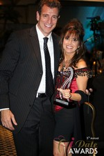 Renee Piane (Winner of Best Dating Coach) at the 2014 iDate Awards