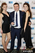 Maciej Koper of World Dating Company (Winner of Best New Technology) at the 2014 Las Vegas iDate Awards