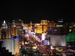 View of Las Vegas Strip - Party @ Foundation Room at the 37th International Dating Industry Convention