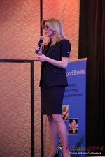 Dr. Wendy Walsh - Reporter @ CNN at the January 14-16, 2014 Internet Dating Super Conference in Las Vegas
