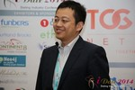 CFO of Jiayuan at iDate at the January 14-16, 2014 Las Vegas Internet Dating Super Conference