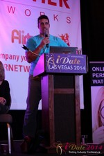 Nick Bicanic - Co-Founder @ IDCA at the January 14-16, 2014 Las Vegas Online Dating Industry Super Conference