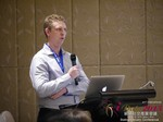 Daniel Haigh - COO of Oasis at the 2015 Beijing Asia Mobile and Internet Dating Expo and Convention