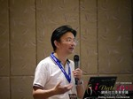 Dr. Song Li - CEO of Zhenai at the 2015 Beijing China Mobile and Internet Dating Expo and Convention