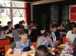 Lunch at the May 28-29, 2015 Mobile and 互联网 Dating Industry Conference in Beijing