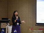Violet Lim - CEO of Lunch Actually at the May 28-29, 2015 Mobile and 互联网 Dating Industry Conference in Beijing
