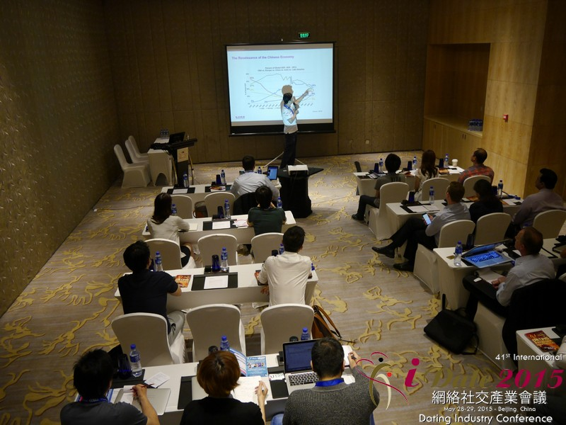 Dr. Song Li - CEO of Zhenai at the May 28-29, 2015 Mobile and Internet Dating Industry Conference in China