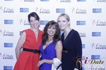 Leila Benton-Jones, Renee Piane and Rachel MacLynn in Las Vegas at the 2015 Online Dating Industry Awards