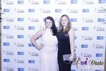Genevieve Zawada and Sarah Ryan at the January 15, 2015 Internet Dating Industry Awards Ceremony in Las Vegas