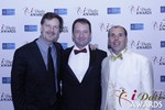 eHarmony's Grant Langston with Mark Brooks and Marc Lesnick at the 2015 iDateAwards Ceremony in Las Vegas held in Las Vegas