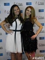 Jennifer Gonzales and Ana Reed-Davies at the 2015 Las Vegas iDate Awards