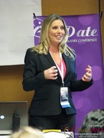 Author Laurel House - Speaking on Womens Empowerment and Online Dating at iDate2015 Las Vegas