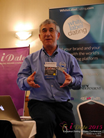Dave Wiseman Vice President Of Sales And Marketing Speaking To The European Dating Market On Scam Detection Technology at the 12th annual U.K. & E.U. iDate conference matchmakers and online dating professionals in London