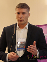 Hristo Zlatarsky CEO Elitebook.bg With Insights On The Bulgarian Mobile And Online Dating Market at the October 14-16, 2015 event for global online dating and matchmaking professionals in London