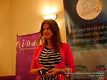 Juliette Prais CEO of Pink Lobster Dating Speaking at CEO Therapy at the 2015 iDate Mobile, Online Dating and Matchmaking conference in London