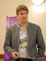 Kevin Gibbons CEO Of Blueglass And Welovedates On Marketing Strategy For Mobile And Online Dating Sites  at the 12th Annual E.U. iDate Mobile Dating Business Executive Convention and Trade Show