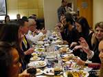 Lunch Among European And Global Dating Industry Executives   at the 2015 London E.U. Mobile and Internet Dating Expo and Convention