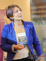 Pauline Tourneur General Manager Of Attractive World Speaking On The French Online And Mobile Dating Market at the October 14-16, 2015 Mobile and En ligne Dating Industry Conference in London