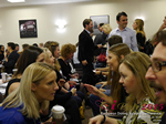 Speed Networking Among CEOs General Managers And Owners Of Dating Sites Apps And Matchmaking Businesses  at the 2015 iDate Mobile, Online Dating and Matchmaking conference in London
