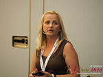 Krystina Trushnya - Publisher of Ukranian Dating Blog at the 45th iDate2016 Cyprus